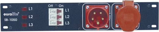 19 Zoll Stromverteiler 6fach Eurolite SB-1050 2 HE