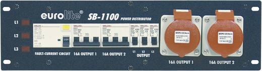 19 Zoll Stromverteiler 9fach Eurolite SB-1100 3 HE