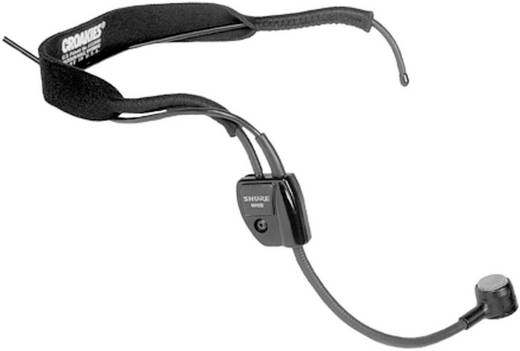 Ansteck Sprach-Mikrofon Shure NJS290 Übertragungsart:Kabelgebunden inkl. Klammer, inkl. Windschutz
