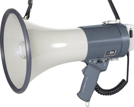 SpeaKa Professional ER-66S Megaphon mit Handmikrofon, mit Haltegurt, integrierte Sounds