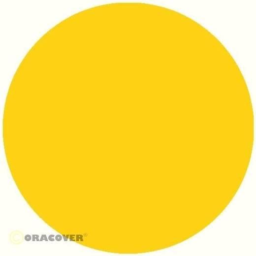 Bügelfolie Oracover Oralight 31-033-010 (L x B) 10000 mm x 600 mm Cadmium-Gelb