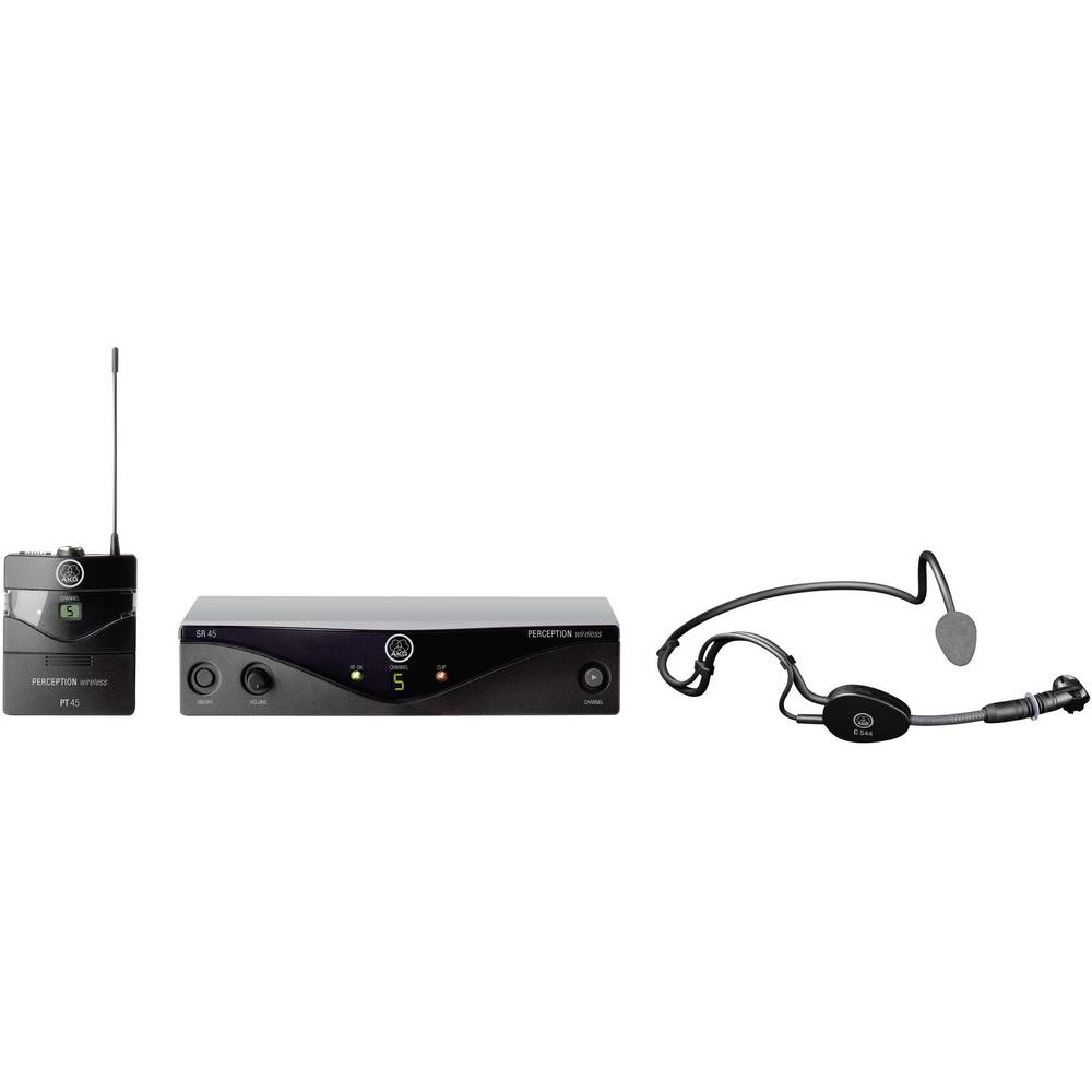 AKG PW45 SPORT Headset Draadloze microfoonset Zendmethode:Radiografisch
