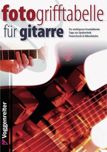 Buch Fotogrifftabelle Gitarre