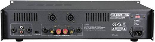 PA Verstärker Reloop Dominance RMS Leistung je Kanal an 4 Ohm: 360 W