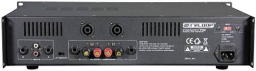 PA Verstärker Reloop Dominance 702 RMS Leistung je Kanal an 4 Ohm: 180 W