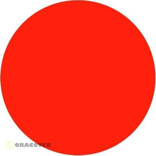 Klebefolie Oracover Orastick 25-064-010 (L x B) 10 m x 60 cm Rot-Orange (fluoreszierend)