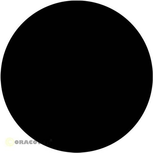 Bügelfolie Oracover Oralight 31-071-010 (L x B) 10000 mm x 600 mm Schwarz