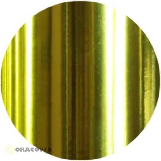 Bügelfolie Oracover Air Medium 321-094-002 (L x B) 2000 mm x 600 mm Chrom-Gelb