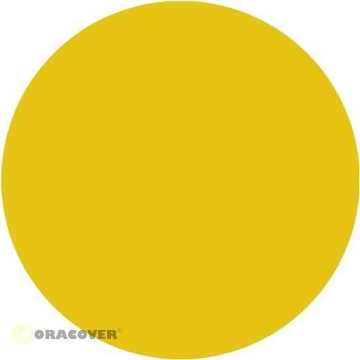 Bügelfolie Oracover 22-033-010 (L x B) 10000 mm x 600 mm Scale-Gelb