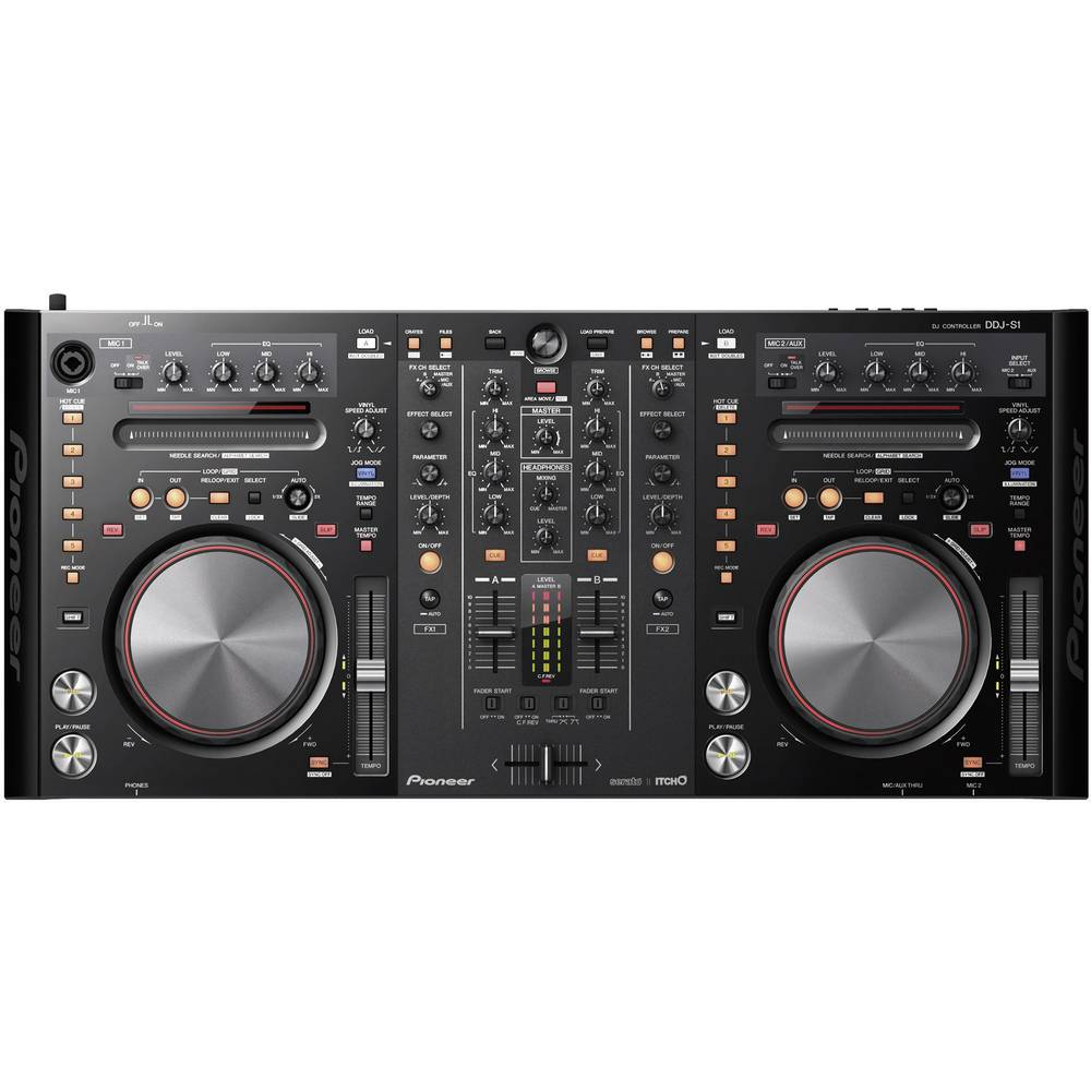 contr leur pioneer dj ddj s1. Black Bedroom Furniture Sets. Home Design Ideas