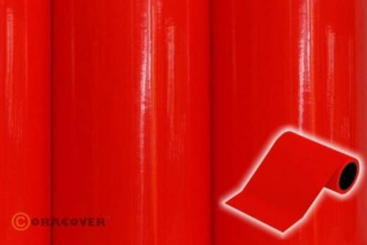 Dekorstreifen Oracover Oratrim 27-021-025 (L x B) 25 m x 12 cm Rot (fluoreszierend)