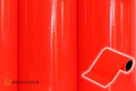 Dekorstreifen Oracover Oratrim 27-064-025 (L x B) 25 m x 12 cm Rot-Orange (fluoreszierend)