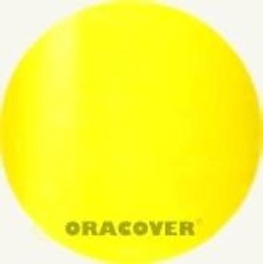 Bügelfolie Oracover Air Outdoor 321-039-010 (L x B) 10000 mm x 600 mm Gelb (transparent)
