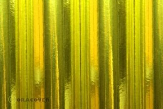 Bügelfolie Oracover 21-094-002 (L x B) 2000 mm x 600 mm Chrom-Gelb