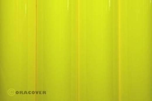 Klebefolie Oracover Orastick 25-031-010 (L x B) 10 m x 60 cm Gelb (fluoreszierend)