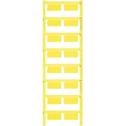 Gerätemarkierung Montageart: aufkleben Beschriftungsfläche: 27 x 12.50 mm Passend für Serie Geräte und Schaltgeräte, Universaleinsatz, Taster und Schalter 22 mm Gelb Weidmüller SM 27/12.5 MC NE GE 1131860000 Anzahl Markierer: 80 80 St.