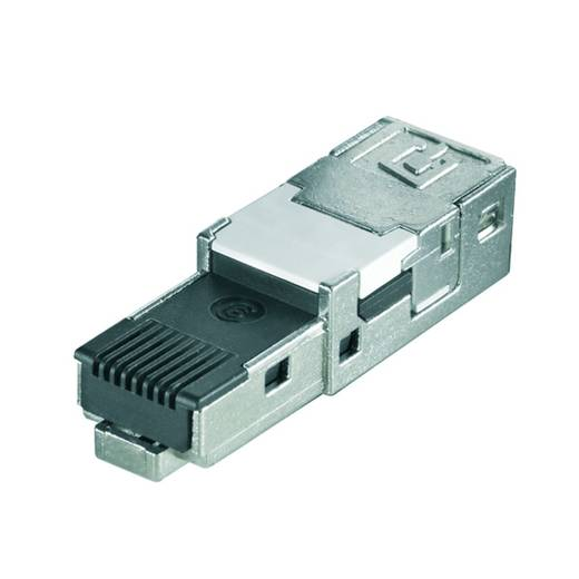 Sensor-/Aktor-Steckverbinder, unkonfektioniert RJ45 Steckereinsatz Weidmüller 1132020000 IE-PI-RJ45-FH-B 10 St.