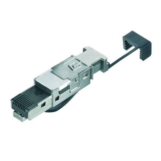 Sensor-/Aktor-Datensteckverbinder Stecker, gerade Weidmüller 1132040000 IE-PS-RJ45-FH-BK-A 10 St.