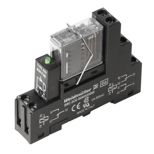 Relaisbaustein 10 St. Weidmüller RCIKIT 24VDC 2CO LD/FG Nennspannung: 24 V/DC Schaltstrom (max.): 6 A 2 Wechsler