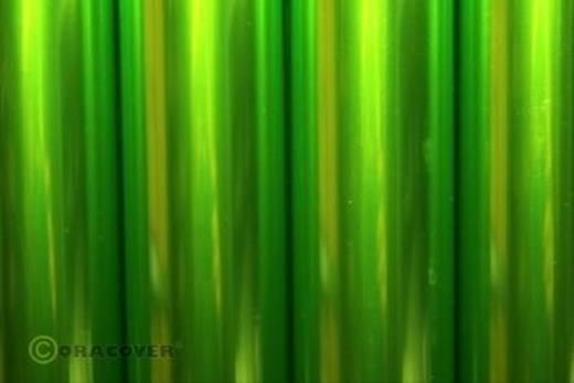 Bügelfolie Oracover Air Outdoor 321-049-010 (L x B) 10 m x 60 cm Hellgrün (transparent)