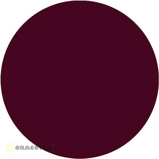 Bügelfolie Oracover 21-120-002 (L x B) 2000 mm x 600 mm Bordeauxrot