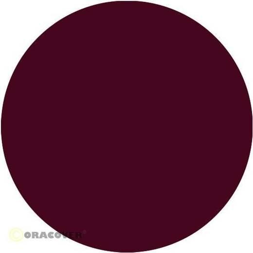 Bügelfolie Oracover 21-120-010 (L x B) 10000 mm x 600 mm Bordeauxrot