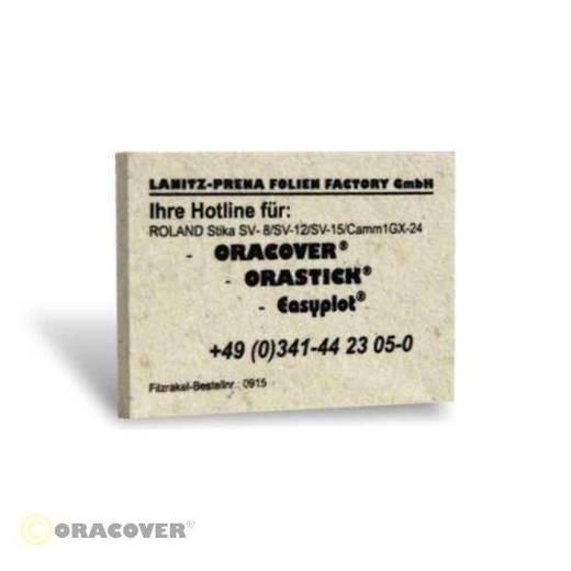 Oracover Filzrakel 0915 (L x B) 100 mm x 70 mm
