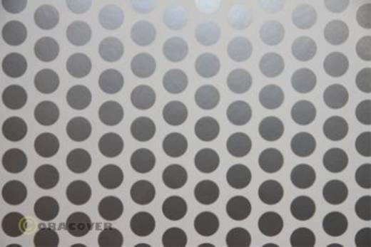 Plotterfolie Oracover Easyplot Fun 1 91-010-091-010 (L x B) 10 m x 38 cm Weiß-Silber