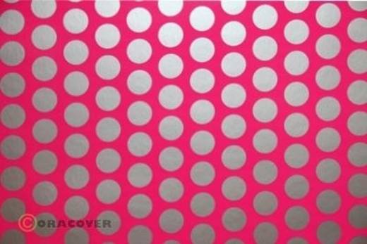 Plotterfolie Oracover Easyplot Fun 1 91-014-091-002 (L x B) 2000 mm x 380 mm Neon-Pink-Silber (fluoreszierend)