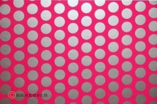 Plotterfolie Oracover Easyplot Fun 1 91-014-091-010 (L x B) 10 m x 38 cm Neon-Pink-Silber (fluoreszierend)