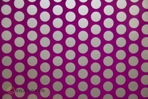 Plotterfolie Oracover Easyplot Fun 1 91-015-091-002 (L x B) 2000 mm x 380 mm Violett-Silber (fluoreszierend)