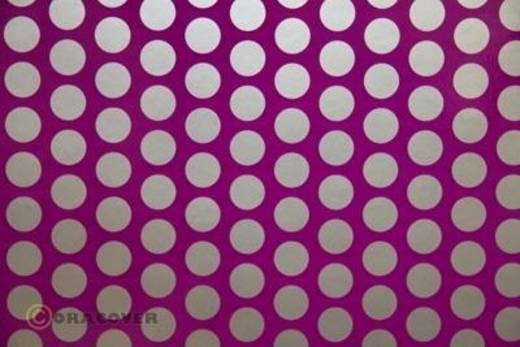 Plotterfolie Oracover Easyplot Fun 1 91-015-091-010 (L x B) 10 m x 38 cm Violett-Silber (fluoreszierend)