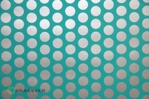 Plotterfolie Oracover Easyplot Fun 1 91-017-091-010 (L x B) 10 m x 38 cm Türkis-Silber