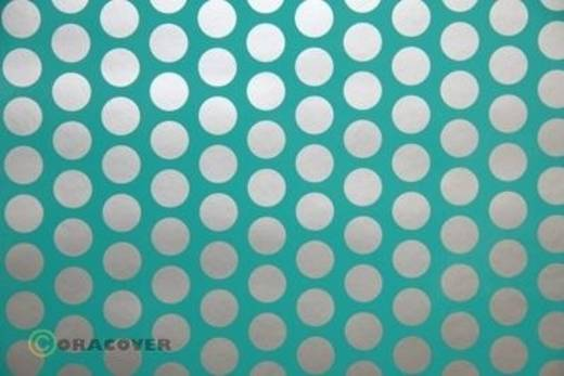 Plotterfolie Oracover Easyplot Fun 1 92-017-091-002 (L x B) 2000 mm x 200 mm Türkis-Silber