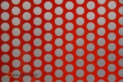 Plotterfolie Oracover Easyplot Fun 1 92-022-091-010 (L x B) 10 m x 20 cm Hell-Rot-Silber