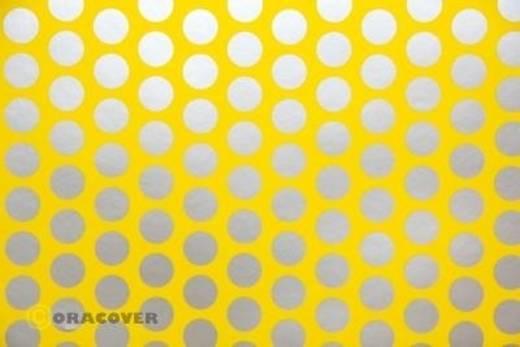 Plotterfolie Oracover Easyplot Fun 1 91-033-091-010 (L x B) 10 m x 38 cm Cadmium-Gelb-Silber