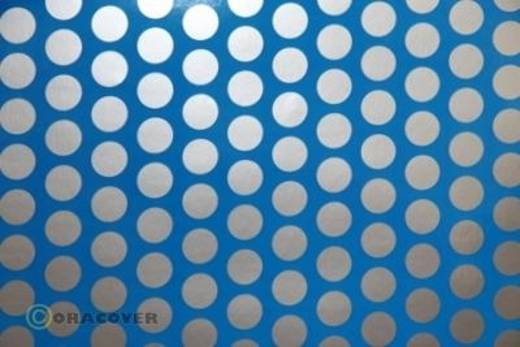 Plotterfolie Oracover Easyplot Fun 1 91-051-091-010 (L x B) 10000 mm x 380 mm Blau-Silber (fluoreszierend)