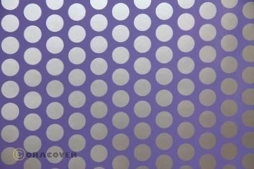 Plotterfolie Oracover Easyplot Fun 1 92-055-091-010 (L x B) 10000 mm x 200 mm Lila-Silber