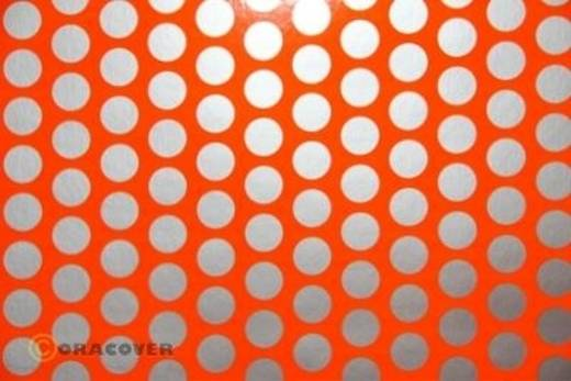 Plotterfolie Oracover Easyplot Fun 1 90-064-091-010 (L x B) 10000 mm x 600 mm Rot-Orange-Silber (fluoreszierend)
