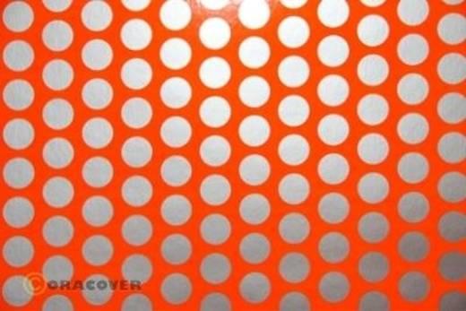 Plotterfolie Oracover Easyplot Fun 1 91-064-091-010 (L x B) 10 m x 38 cm Rot-Orange-Silber (fluoreszierend)