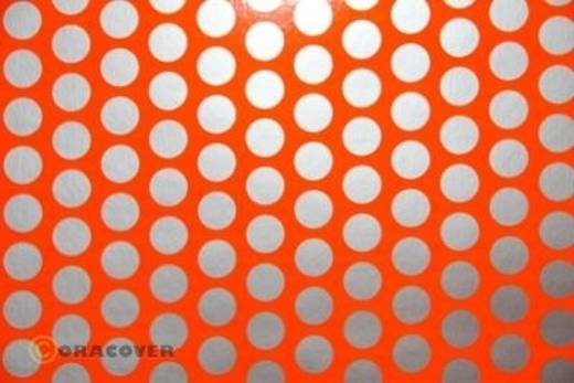Plotterfolie Oracover Easyplot Fun 1 92-064-091-010 (L x B) 10 m x 20 cm Rot-Orange-Silber (fluoreszierend)