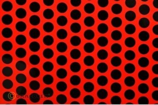 Plotterfolie Oracover Easyplot Fun 1 93-021-071-010 (L x B) 10 m x 30 cm Rot-Schwarz (fluoreszierend)