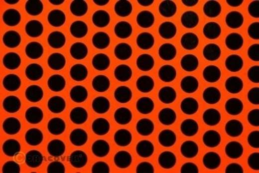 Plotterfolie Oracover Easyplot Fun 1 90-064-071-002 (L x B) 2 m x 60 cm Rot-Orange-Schwarz (fluoreszierend)
