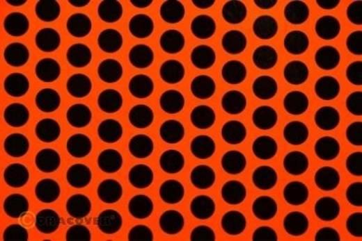Plotterfolie Oracover Easyplot Fun 1 92-064-071-010 (L x B) 10 m x 20 cm Rot-Orange-Schwarz (fluoreszierend)