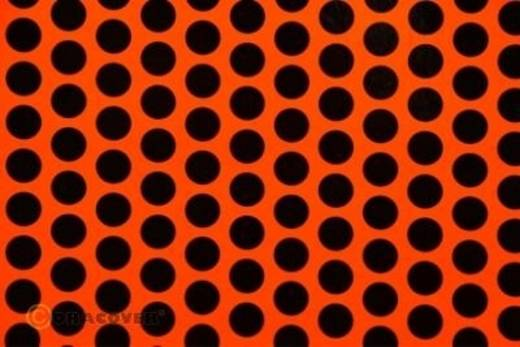 Plotterfolie Oracover Easyplot Fun 1 93-064-071-010 (L x B) 10 m x 30 cm Rot-Orange-Schwarz (fluoreszierend)