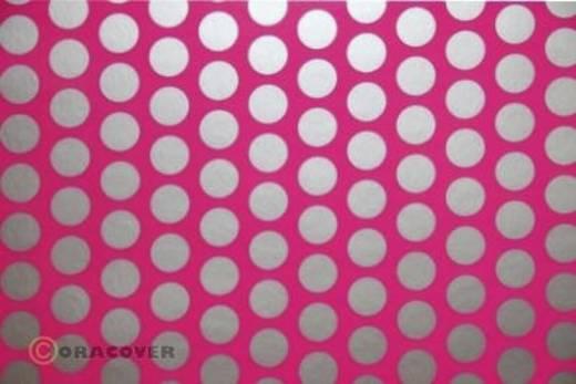 Bügelfolie Oracover Fun 1 41-014-091-002 (L x B) 2 m x 60 cm Neon-Pink-Silber (fluoreszierend)