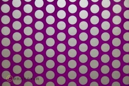 Bügelfolie Oracover Fun 1 41-015-091-002 (L x B) 2 m x 60 cm Violett-Silber (fluoreszierend)