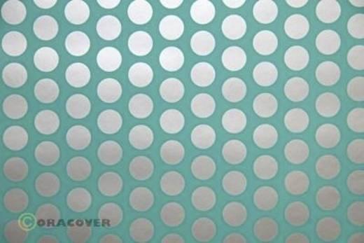 Bügelfolie Oracover Fun 1 41-017-091-002 (L x B) 2 m x 60 cm Türkis-Silber