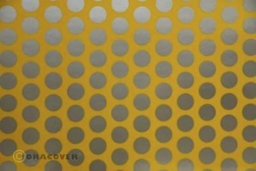 Bügelfolie Oracover Fun 1 41-030-091-002 (L x B) 2 m x 60 cm Cub-Gelb-Silber
