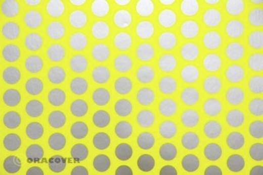Bügelfolie Oracover Fun 1 41-031-091-002 (L x B) 2 m x 60 cm Gelb-Silber (fluoreszierend)